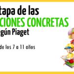 La etapa operativa concreta del desarrollo de Piaget