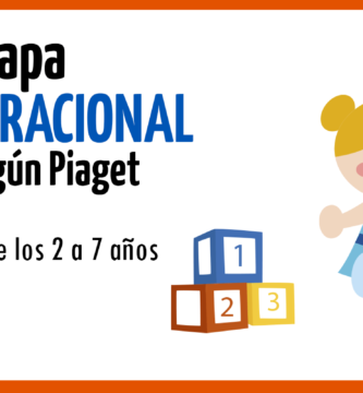 etapa preoperacional de Piaget